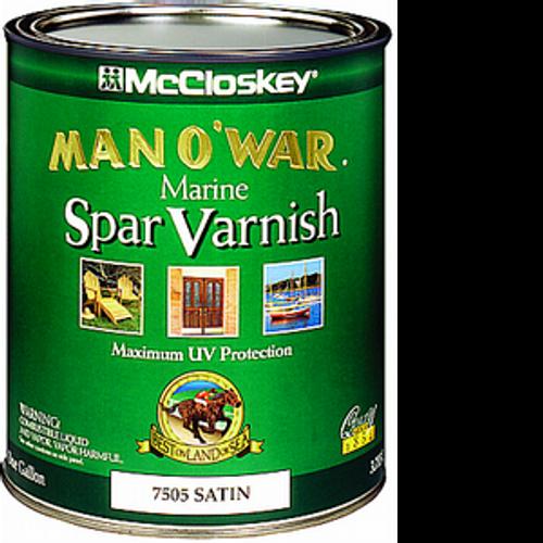 MCCLOSKEY 80-7505 1G SATIN MAN-O-WAR SPAR VARNISH 450 VOC