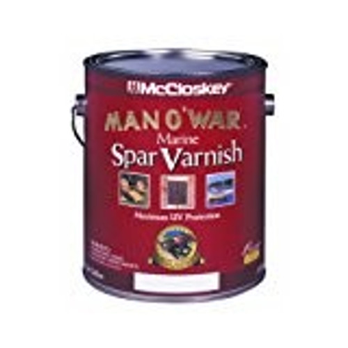 McCloskey 80-7507 1G Semi Gloss Man-O-War Spar Varnish 450 VOC