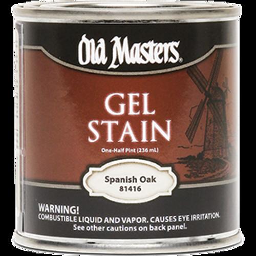 OLD MASTERS 81416 .5PT SPANISH OAK GEL STAIN