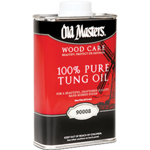 OLD MASTERS 90008 PT 100% PURE TUNG OIL