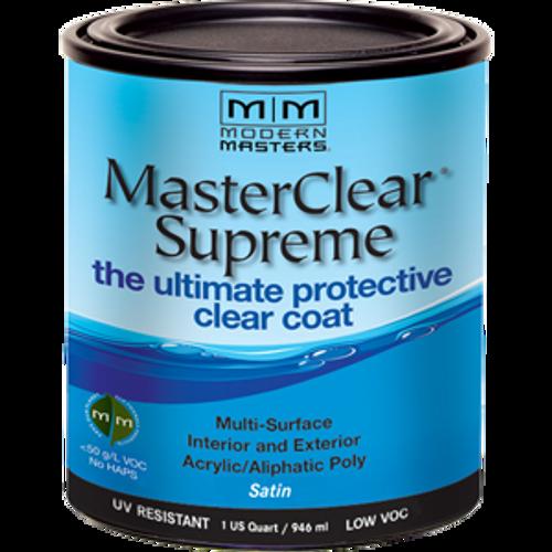 Modern Masters MCS902 Qt Satin Masterclear Supreme Protective Clear Coat