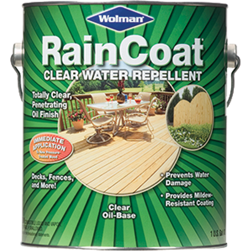 WOLMAN 12386 1G CLEAR RAINCOAT REPELLANT OIL BASED