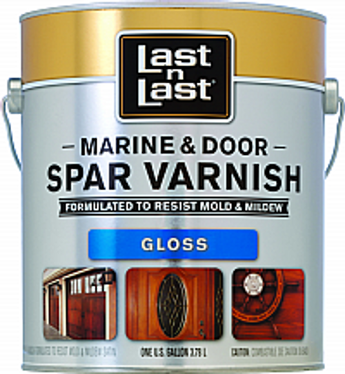 ABSOLUTE 50701 1G GLOSS LAST N LAST MARINE & DOOR SPAR VARNISH 450 VOC