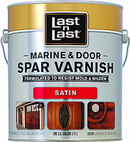 ABSOLUTE 50801 1G SATIN LAST N LAST MARINE & DOOR SPAR VARNISH 450 VOC