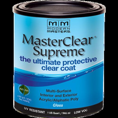 MODERN MASTERS MCS90432 QT GLOSS MASTERCLEAR SUPREME PROTECTIVE CLEAR COAT