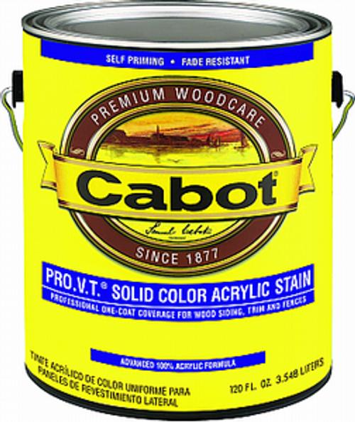 CABOT 0801 1G WHITE BASE PRO V.T. SOLID ACRYLIC