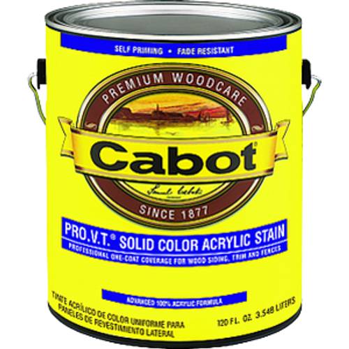 CABOT 10812 1G ULTRA WHITE PRO V.T. SOLID ACRYLIC
