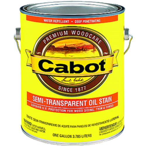 CABOT 0306 1G SEMI TRANSPARENT NEUTRAL BASE OIL BASED STAIN