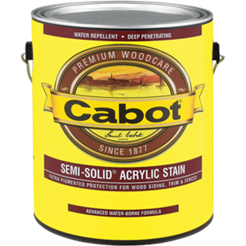 CABOT 1106 1G NEUTRAL BASE SEMI SOLID WATER BASED STAIN