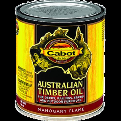 CABOT 43459 QT MAHOGANY FLAME AUSTRALIAN TIMBER OIL