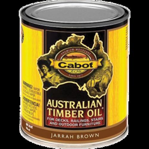 CABOT 43460 QT JARRAH BROWN AUSTRALIAN TIMBER OIL NATURAL