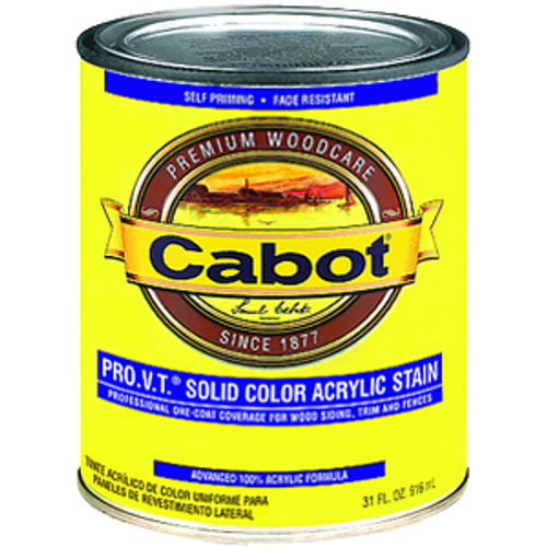 CABOT 0807 QT DEEP BASE PRO V.T. SOLID ACRYLIC