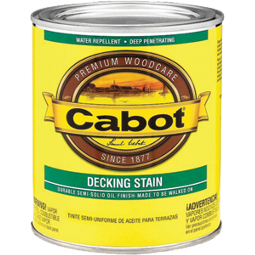 CABOT 1406 QT NEUTRAL BASE DECK & SIDING SEMI SOLID STAIN