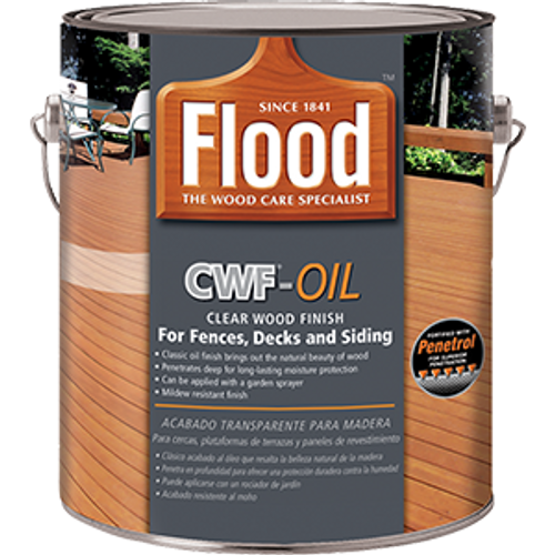 FLOOD FLD447 1G CWF OIL CLEAR 350 VOC