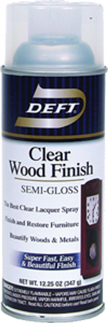 DEFT 011-13 13OZ SEMI GLOSS CLEAR WOOD FINISH SPRAY