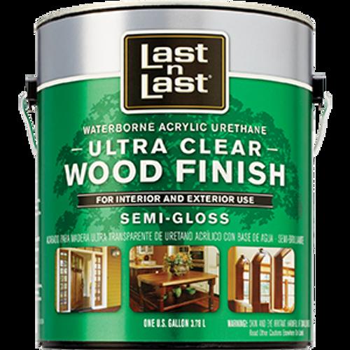 ABSOLUTE 14001 1G SEMI GLOSS ULTRA CLEAR LAST N LAST WATERBORNE WOOD FINISH 275 VOC