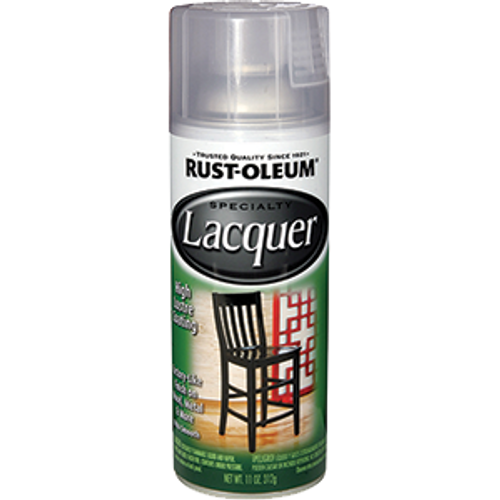 RUSTOLEUM 1906830 11OZ GLOSS CLEAR LACQUER SPECIALTY SPRAY