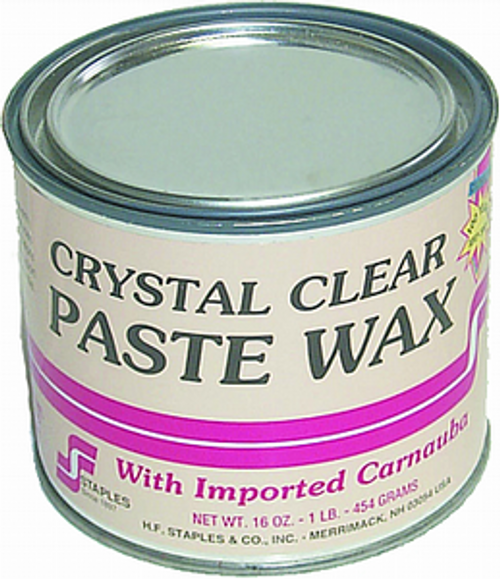 STAPLES 211 1LB CLEAR PASTE WAX