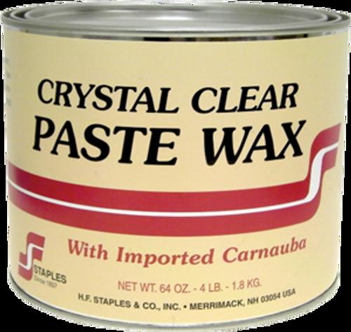 STAPLES 212 4LB CLEAR PASTE WAX