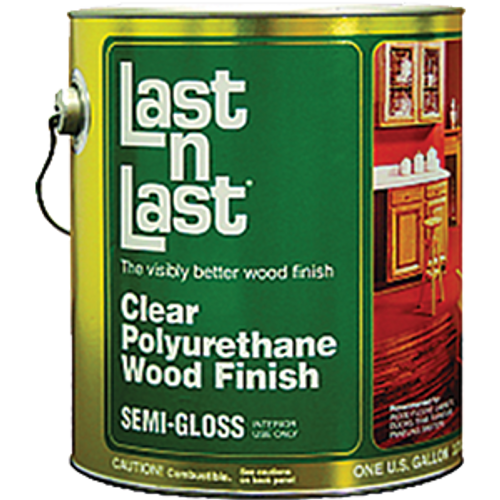 ABSOLUTE 51001 1G SEMI GLOSS LAST N LAST POLYURETHANE WOOD FINISH 550 VOC