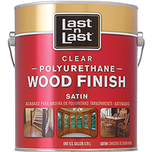 ABSOLUTE 53101 1G SATIN LAST N LAST POLYURETHANE WOOD FINISH 450 VOC