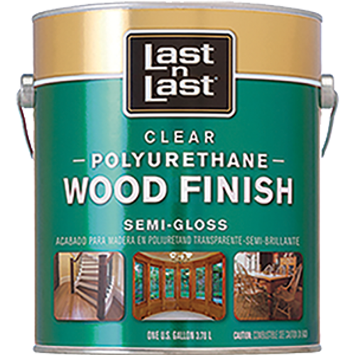 ABSOLUTE 53201 1G SEMI GLOSS LAST N LAST POLYURETHANE WOOD FINISH 450 VOC