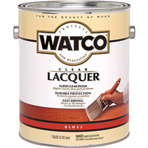 WATCO 63031 1G GLOSS CLEAR LACQUER WOOD FINISH