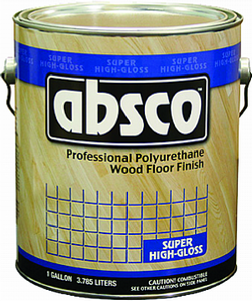 ABSOLUTE 89001 1G GLOSS ABSCO POLYURETHANE WOOD FLOOR FINISH 450 VOC