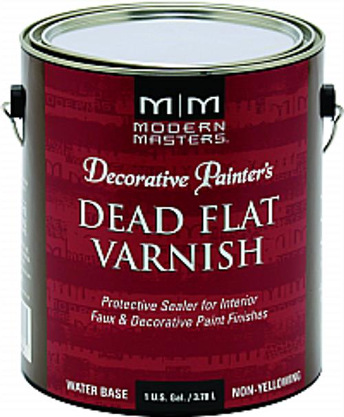 MODERN MASTERS DP609 1G DEAD FLAT VARNISH INTERIOR