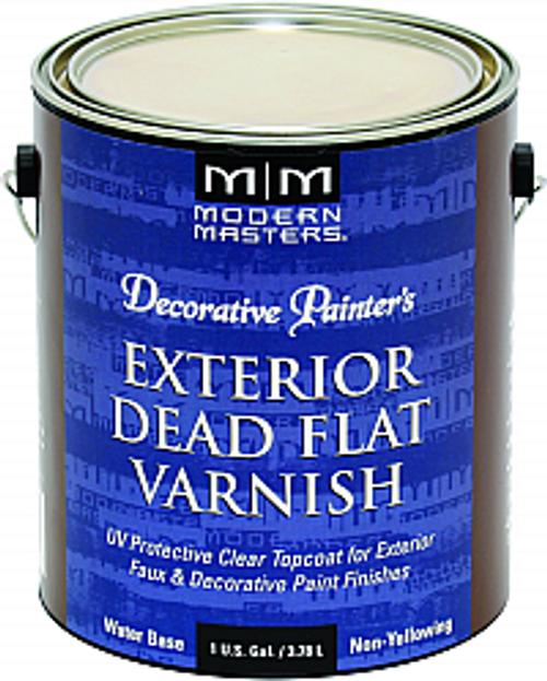 MODERN MASTERS DP612 1G DEAD FLAT VARNISH EXTERIOR CLEAR TOP COAT