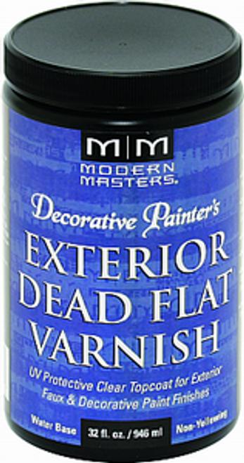 MODERN MASTERS DP612 QT DEAD FLAT VARNISH EXTERIOR CLEAR TOP COAT