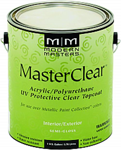MODERN MASTERS ME662 1G SEMI GLOSS MASTER CLEAR METALLIC TOPCOAT