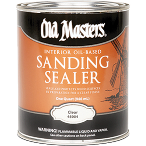 OLD MASTERS 45004 QT OIL BASED SANDING SEALER