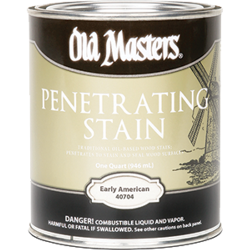 OLD MASTERS 40704 QT EARLY AMERICAN PENETRATING STAIN