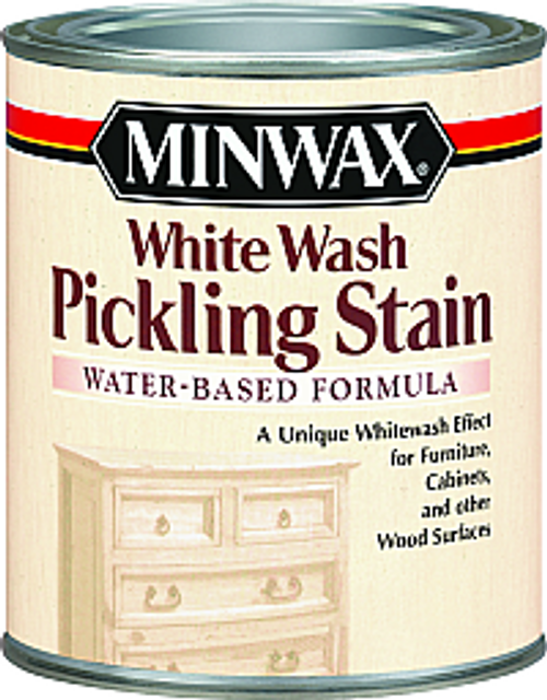 MINWAX 61860 QT WHITE WASH WATER BASED PICKLING STAIN