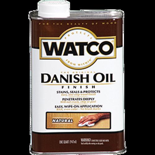 WATCO A65741 QT NATURAL DANISH OIL