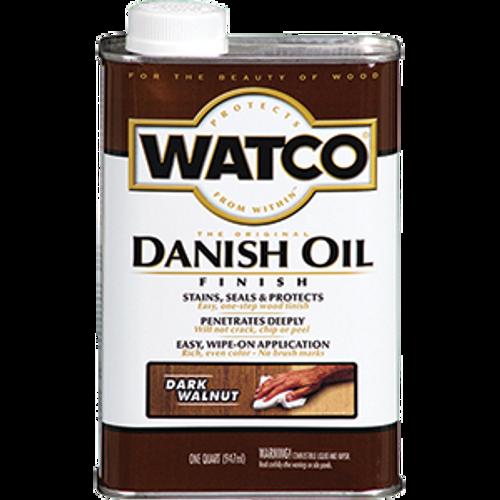 WATCO A65841 QT DARK WALNUT DANISH OIL