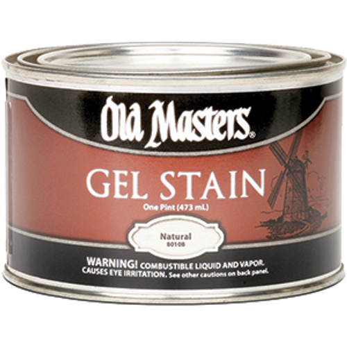 OLD MASTERS 80108 PT NATURAL GEL STAIN