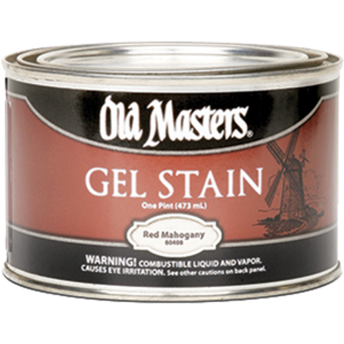 OLD MASTERS 80408 PT RED MAHOGANY GEL STAIN