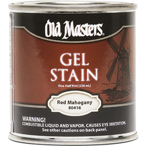 OLD MASTERS 80416 .5PT RED MAHOGANY GEL STAIN