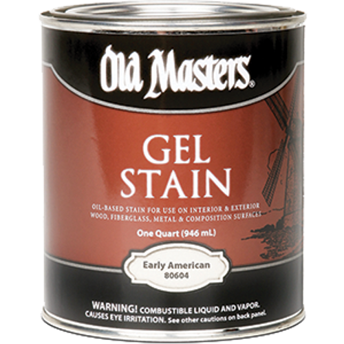 OLD MASTERS 80604 QT EARLY AMERICAN GEL STAIN