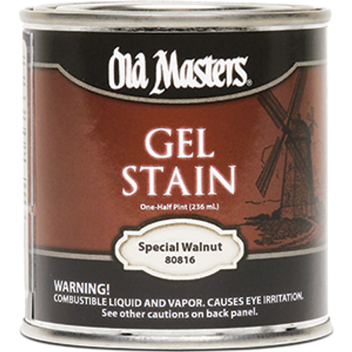 OLD MASTERS 80816 .5PT SPECIAL WALNUT GEL STAIN
