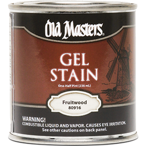 OLD MASTERS 80916 .5PT FRUITWOOD GEL STAIN