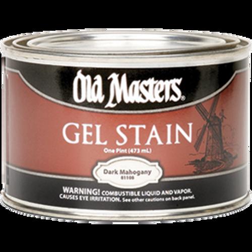 OLD MASTERS 81108 PT DARK MAHOGANY GEL STAIN