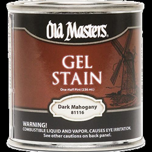OLD MASTERS 81116 .5PT DARK MAHOGANY GEL STAIN