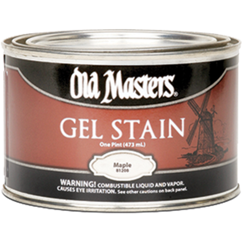 OLD MASTERS 81208 PT MAPLE GEL STAIN