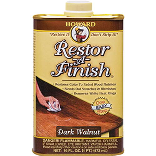 HOWARD RF6016 16OZ DARK WALNUT RESTOR-A-FINISH