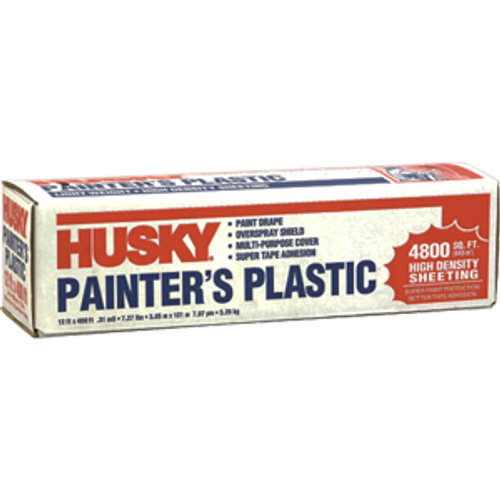POLY AMERICA 03512H 12' X 400' .31 MIL HIGH DENSITY PAINTERS POLY FILM