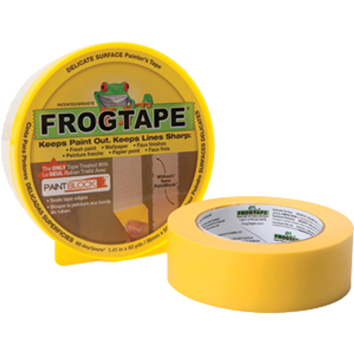 SHURTAPE 142920 48MM X 55M YELLOW FROG DELICATE MULTI-USE PAINTER'S TAPE