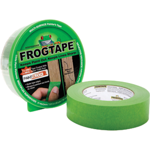 SHURTAPE 150849 24MM X 55M GREEN FROGTAPE MULTISURFACE W/PAINT BLOCK TECHNOLOGY